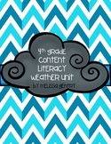 4th Grade Weather Content Literacy Unit
