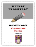 4th Grade Weekly Expository Prompts