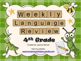 4th Grade Weekly Language Review