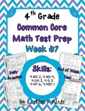 4th Grade: Weekly Test Prep #7 (Daily Practice & Assessment)