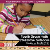 Fourth Grade Math Whole Numbers, Place Value and Rounding