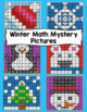 4th Grade Winter Math: 4th Grade Math Mystery Pictures