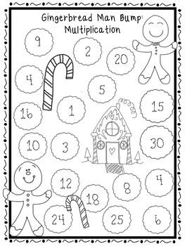4th Grade December Math Centers!