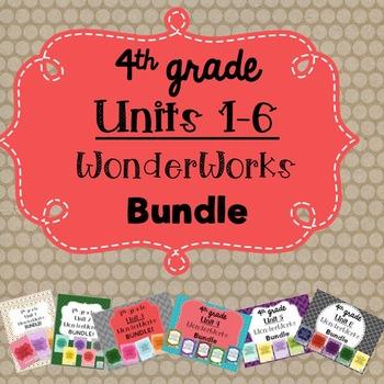 4th Grade WonderWorks Supplement- ALL UNITS BUNDLE