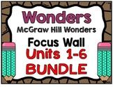 4th Grade Wonders Focus Wall Bundle