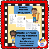 4th Grade Wonders Reading Vocabulary Practice Activities a