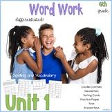 4th Grade Wonders Unit 1 Bundle