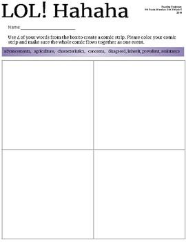 4th Grade Wonders Unit 3 Week 5 Station Activities