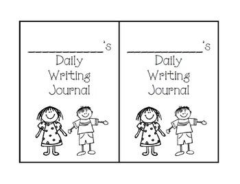 4th Grade: Writing Journal Unit 1