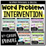 4th Grade Word Problems Bundle