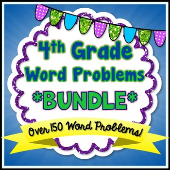 Word Problems - 4th Grade