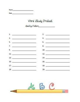 4th Grade Word Study Program - Vowels - 9 Wks. - Everything You Need!