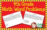 4th Grade Math Word Problems Set 3
