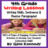 4th Grade Writing Lessons & Activities For Every Standard,