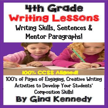 4th Grade Writing Skills Lessons & Activities, Mentor Sent