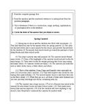 4th Grade Writing Practice 3