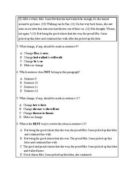 4th Grade Writing Practice 7