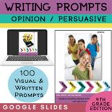 4th Grade Writing Prompt | Persuasive Opinion Writing | Google Classroom