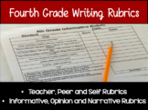 4th Grade Writing Rubrics