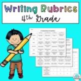 4th Grade Writing Rubrics: Narrative, Opinion, and Informative
