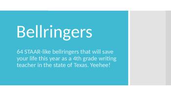 4th Grade Writing STAAR Bell-ringers