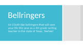 Writing STAAR Bell-ringers (4th and 7th grade)
