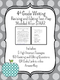 Revising & Editing STAAR Test Prep Bundle-High Interest Passages!