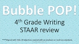 4th Grade Writing STAAR Review Game for REVISING and EDITING