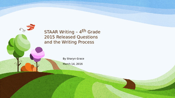 4th Grade Writing STAAR with Answers and Writing Strategies
