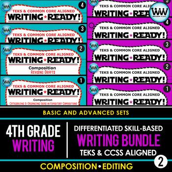 4th Grade Writing - TEST PREP SURVIVAL MEGA BUNDLE