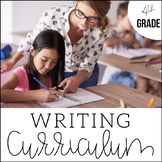 4th Grade Writing Unit Bundle + Curriculum | An Entire Yea