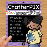 iPad Video Activities for Reading & Math: Chatterpix 4th Grade