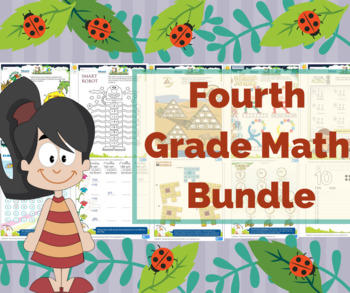 4th Grade math / Fourth Grade Math Worksheets- My Math Centers