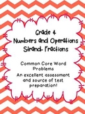 4th Grade Math Journal: CCSS Numbers and Operations-Fracti