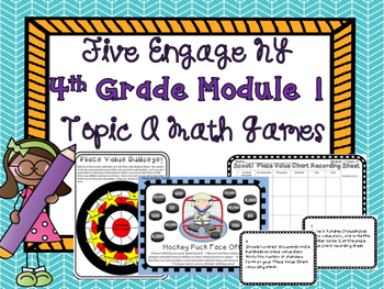 4th Grade Engage NY Eureka Math Module 1 Math Games Topic A Intervention