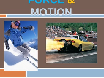 4th Grade Force and Motion Power Point Presentation