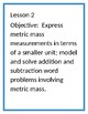 4th Greade Eureka Math Module 2 Terminology and Lesson Objectives
