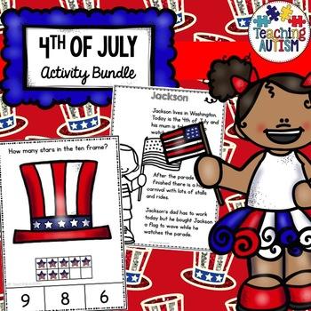 4th July Activities Bundle