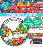 4th July Writing Activity