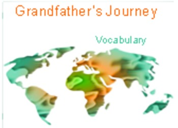 4th Language Arts HM Story 1.2  Grandfather's Journey Vocab PPT