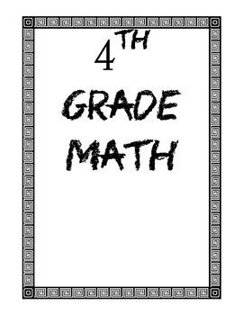 4th Math RTi