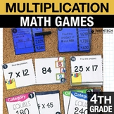 4th - Multiplication Centers - Math Games