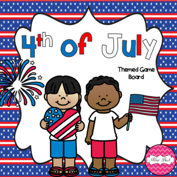 4th Of July- Theme Game Board