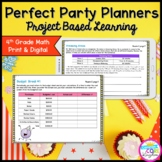 4th Perfect Party Planners Project Based Learning - Printa