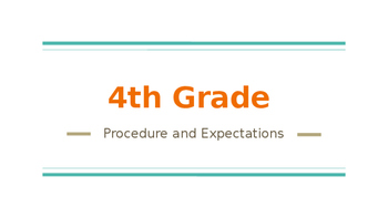 4th Procedures (Editable)