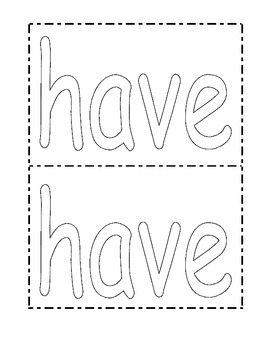 4th Quarter Sight Word Mats (for Play-Doh)