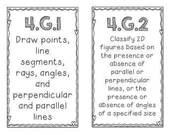 4th Quarter Standards 4th Grade Math