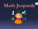 4th Test-Prep/ 5th Math Review Jeopardy [Word Prob.fractio