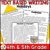 December Paired Passages | Reading Test Prep and Writing Prompts