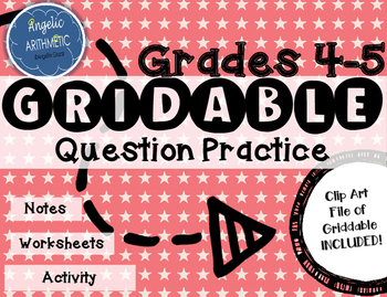 4th and 5th Grade----How to fill in a GRIDDABLE